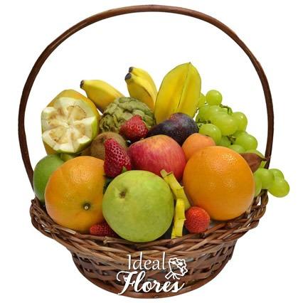 1105 Cesta de Frutas Tropicais