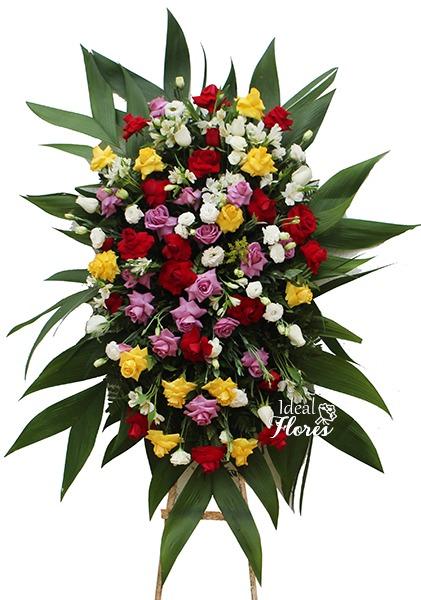 1115 Coroa de Flores Jardim Florido