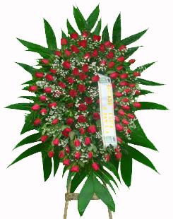1123 Coroa Fúnebre de Rosas