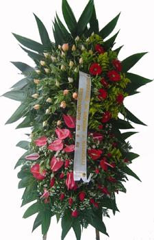 1127 Coroa de Flores Condolências