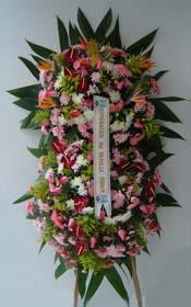 1135 Coroa de flores Saudades