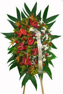 1139 Coroa Mista de Flores