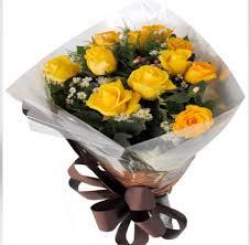 1143 Buquê de Rosas Amarelas