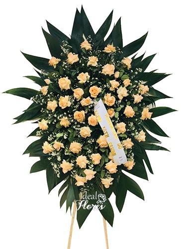 1144 Coroa de Rosas Dobradas