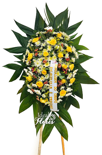 1145 Coroa de Flores Saudade Eterna
