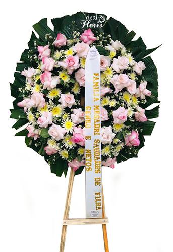 1151 Coroa de Flores Suave