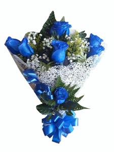 1155 Buquê Azul Celeste