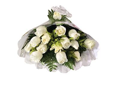 1158 Floral Rosas Brancas