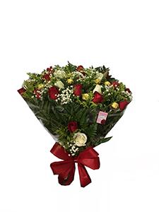 1163 Buquê de Rosas Coloridas