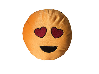 1190 Pelúcia Emoji Apaixonado