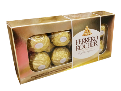 1197 Caixa de Ferrero Rocher com 8 Unidades