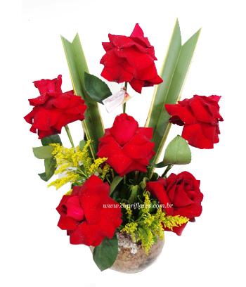 1360 Ikebana de Rosas Dobradas Exotic