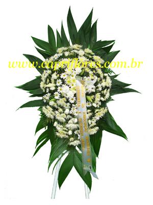 1387 Coroa de Flores Delicada