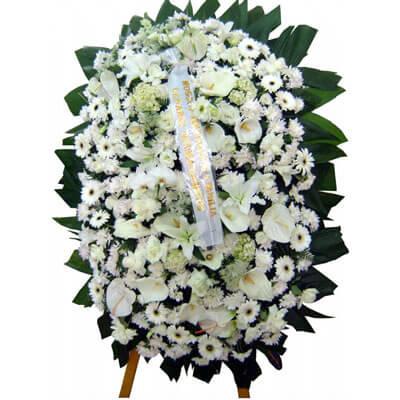1671 Arranjo Funeral Flores Nobres