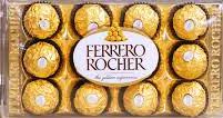 1690 Caixa de Ferrero Rocher 12 Unidades