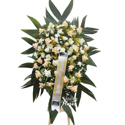 2072 Coroa Fúnebre Descanso Eterno