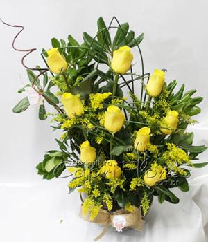 363 Ikebana de Rosas