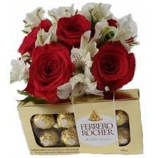 364 Arranjo Floral Exotic + Ferrero