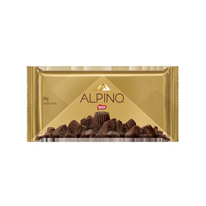 4129 Barra de Chocolate ao Leite Nestlé Alpino