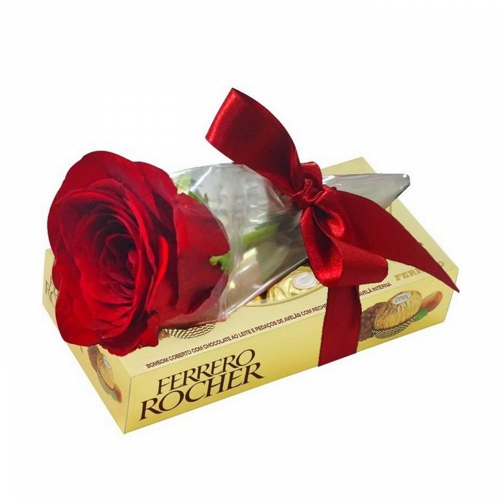 4133 Rosa Unitária & Chocolate Ferrero