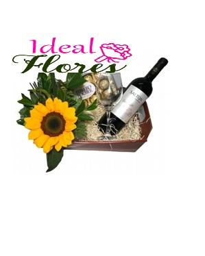 4240 Box Girassol & Vinho
