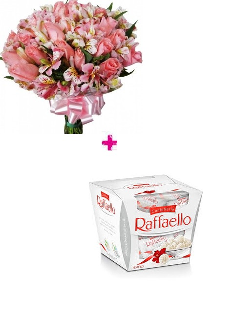 4276 Beautiful Flowers & Raffaello
