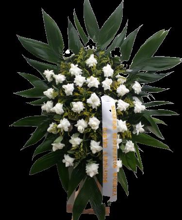 4687 Coroa de Flores Sincera Homenagem