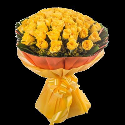 4820 Buquê com 60 Rosas Amor Intenso
