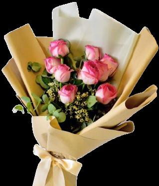 4823 Buquê Rosa Perfeito