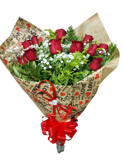 4890 Buquê de Rosas LOVE