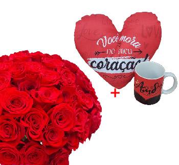 5005 Kit com Rosas Vermelhas