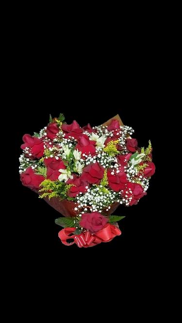 5069 Buquê com 18 Rosas