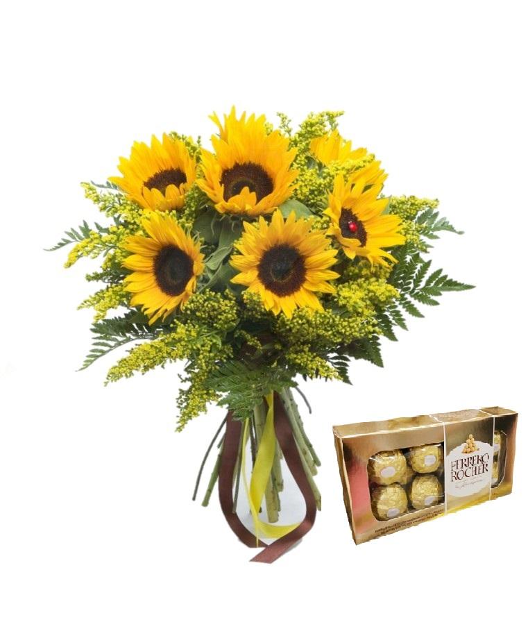 5318 Exotic Sunflowers