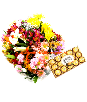 5490 MIX FLOWERS HAPINESS